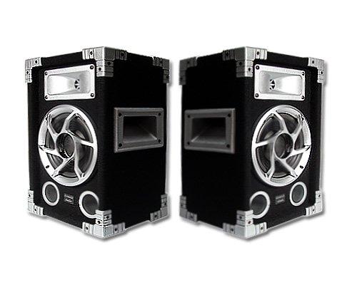 Acoustic Audio GX-400 PA Karaoke DJ Speakers 1200W 2 Way Pair 1200w Speakers