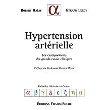 Hypertension arterielle: enseign. grands essais cliniques