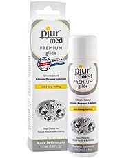 pjur med PREMIUM glide - Medische glijgel op siliconenbasis - voor zeer gevoelig (slijm)huid - hypoallergeen (100ml)