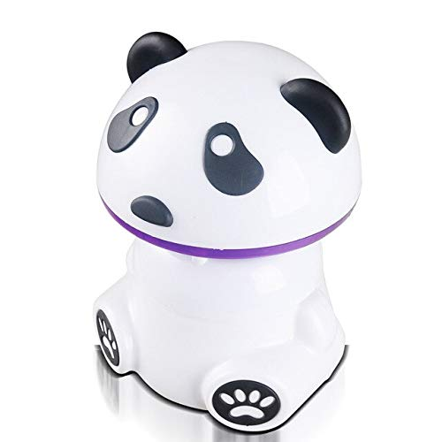 Panda Shape USB Photocatalyst Mosquito Killer Lamp Bug Zapper LED Insect Repellent Household Mute Mosquito Trap Pest Control   White