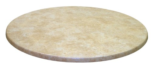 ATC Werzalit Stone-Look Table Top, 36'' D, Catalan (Pack of 2) by American Trading Company