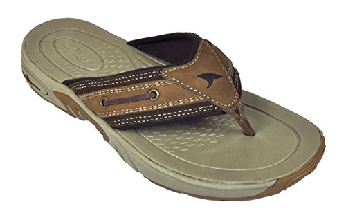 Rugged Shark Men's Bimini Lightweight Premium Sandal, Size 8 (Mens Rugged Casual Sandal)