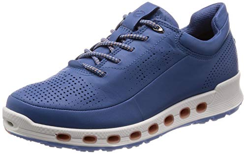 ECCO Women's Cool 2.0 Low-Top Sneakers, (Retro Blue 1471), 8 UK