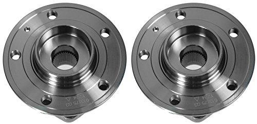 Front Wheel Hub /& Bearing Assembly Pair Set for 99-04 Volvo V70 C70