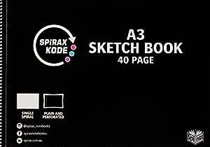 Spirax Kode 965 A3 Sketchbook 40Pg