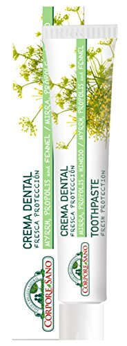 Corpore Sano Fresh Protection Toothpaste-MYRRH,PROPOLIS & FENNEL-Imported from Spain-75 ml/2.5 fl oz from Corpore Sano