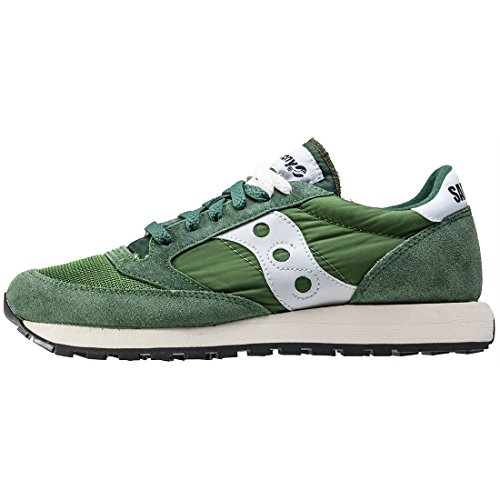 Saucony Jazz Original Vintage Unisex Baskets Grey Green - 9 UK