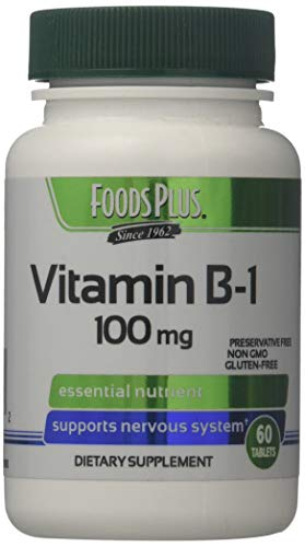 Food Plus Vitamin B1 100mg 60 Tabs