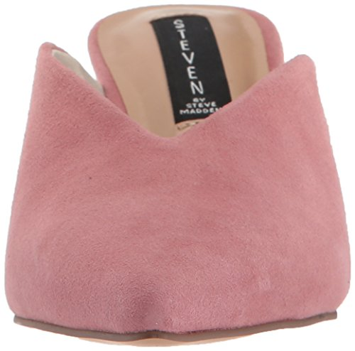 Steven By Steve Madden Womens Ainsley Mule Rose Suede