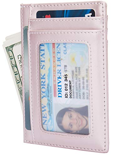 Currency Card Credit - Small RFID Blocking Minimalist Credit Card Holder Pocket Wallets for Men & Women