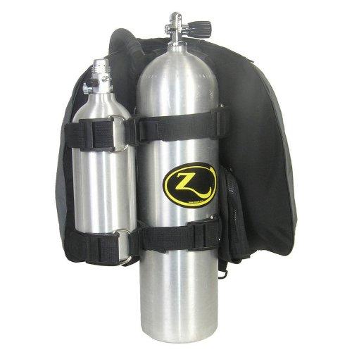 Zeagle H. D. Pony Bottle Heavy Duty Kit Twin Straps 8029HD Tank Holder Scuba Dive Diving Diver (Scuba Tank Straps)