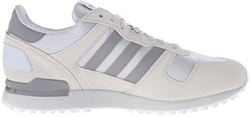 Adidas Originals Mens Zx 700 Lifestyle Runner Sneaker Duidelijk Onix / Tech Grijs F12 / Wit