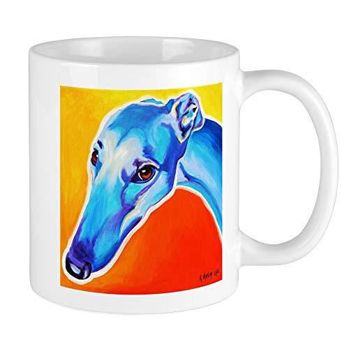 CafePress Greyhound #5 Mug Unique Coffee Mug, Coffee Cup