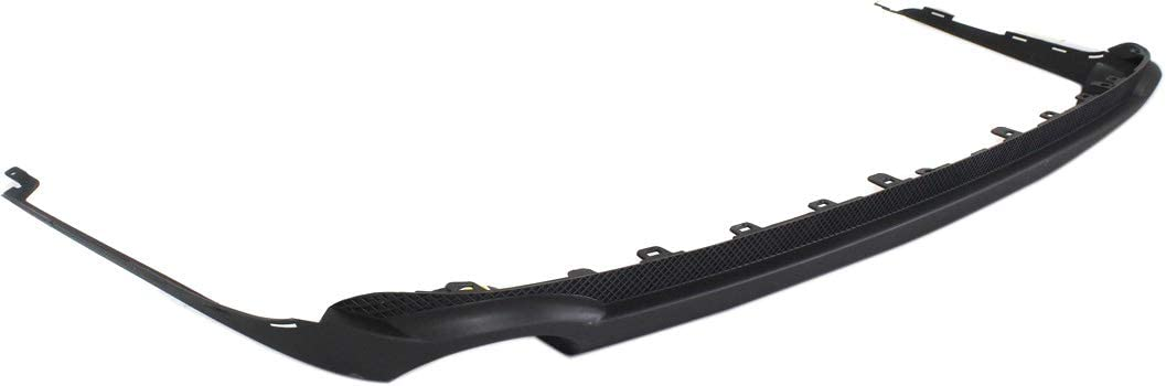 Bumper Cover For 2008-2011 Buick Lucerne Rear Lower w// Dual Exhaust Holes CAPA