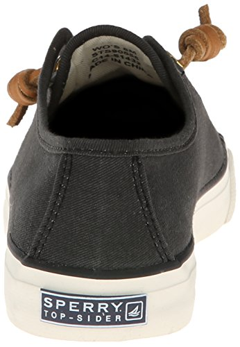 sider Bassi Black Donna Seacoast Black Top Sperry Zw4zx