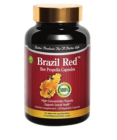 Brazil Red Bee High Concentrate Propolis (120 Capsules) by Confidence