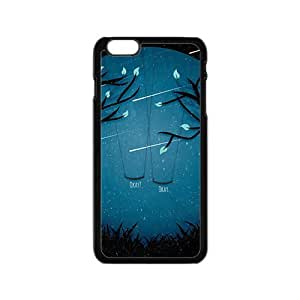 Artistic moon meteor showers and swings Cell Phone Case for Iphone 6