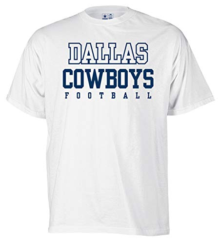 - NFL Dallas Cowboys Youth Practice Tee, XL, White