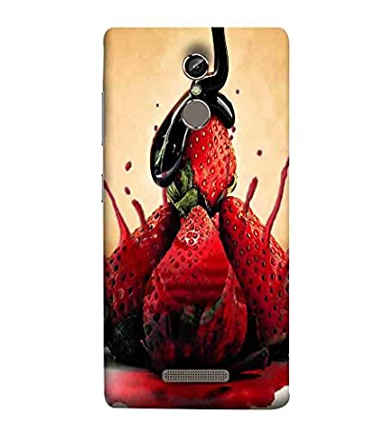 For Gionee S6s strawberries Printed Cell Phone Cases: Amazon