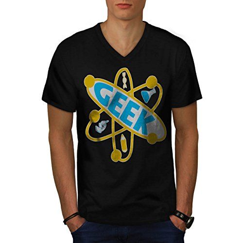 geek-brain-element-nerd-atom-men-new-s-v-neck-t-shirt-wellcoda