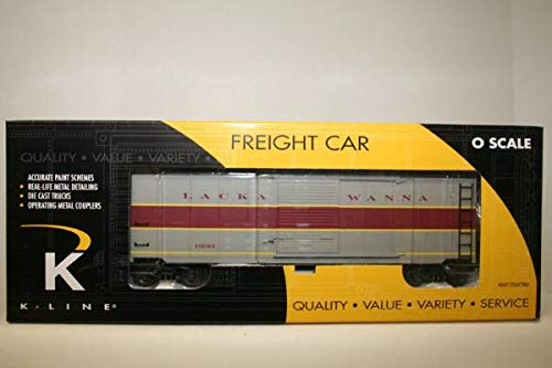 (hobbyoutlet Lackawanna Express Service Scale Boxcar K-LINE Collector's Club Member)