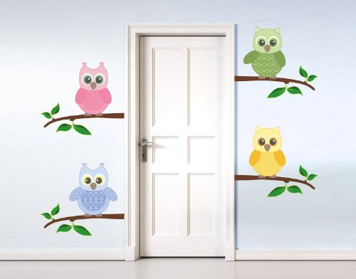 Baby Owl III Wall Decal by Style & Apply - highest quality wall print