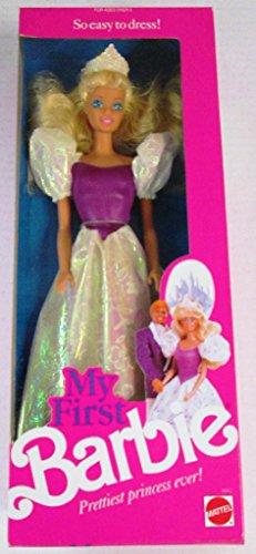1989 Barbie (My First Barbie Doll 1989)