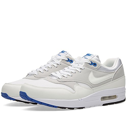 Nike Air Max 1 Cx Qs, Zapatillas De Deporte para Hombre Blanco (Blanco (White/White-Varsity Royal))