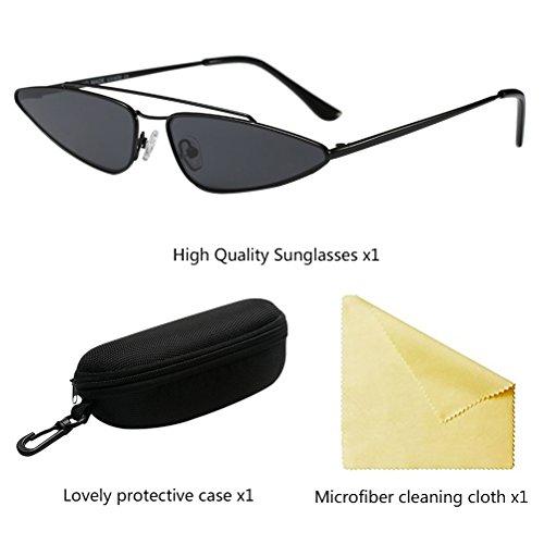 Shades Spécial Black Femmes et Élégant Goggles Eyeglass Unisexe Zhuhaitf Protection Forme pour Irrégulière UV Hommes 7SqZ1w
