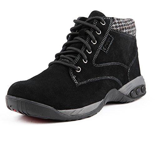 Therafit Shoe Women's Dakota Suede Ankle Boot 6.5 Black