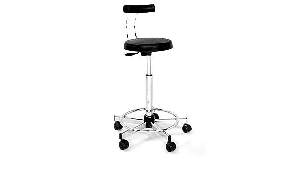 Pleasant Amazon Com Pibbs Forma Professional Stool Black Only Theyellowbook Wood Chair Design Ideas Theyellowbookinfo