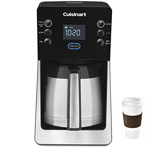 Cuisinart Perfec Temp 12 Cup Coffee Maker - DCC-2900 + Copco To Go Cup Bundle by Cuisinart