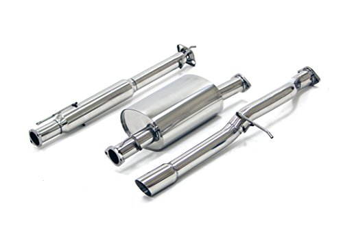 Yonaka Compatible with Honda Element 2003-2006 Stainless Steel Performance Catback Exhaust DX EX LX (FWD Only)