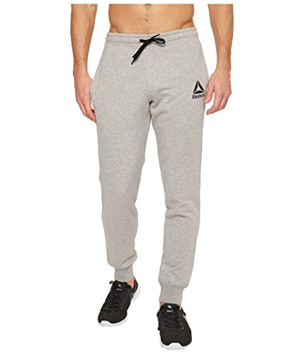 Reebok French Terry Jogger, Medium Grey Heather, Large