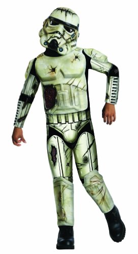 Stormtrooper Zombie (Star Wars Death Trooper Costume, Large)