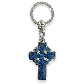 Llavero de La cruz celta, diseño de bandera de Bretaña ...
