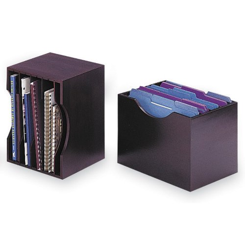 Safco Products 3626MH Wood Stackable Letter Size Sorter, ()