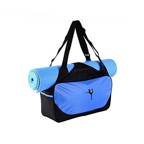 Bolso Impermeable para Esterilla de Yoga, Yoga, Yoga, Yoga, Yoga, etc, Azul
