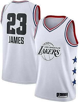 Hombre Ropa de Baloncesto NBA Lakers 23# James Jersey Camiseta de Baloncesto da Bordado