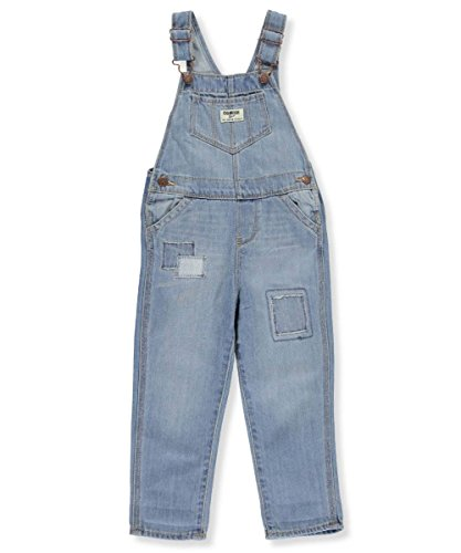 OshKosh B'Gosh Girls' 2T-4T Patched Overalls 3T by OshKosh B'Gosh