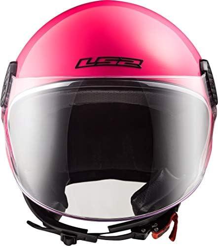Fuchsia LS2 Casque moto OF558 SPHERE LUX Rose S