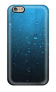 Faddish Phone Water Drops On Glass Case For Iphone 6 / Perfect Case Cover by mcsharks