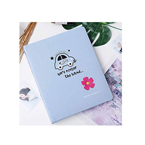 Pink Album Traditional - Qiaoxianpo01 Photo Album, Traditional Photo Album, Interstitial Family Children's Leather Album, Pink (Edition : C)