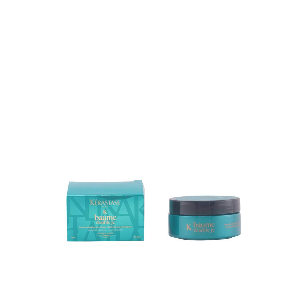 Kerastase Baume Double JE Multi-Talented Styling Balm for Unisex, Medium Hold, 2.5 Ounce