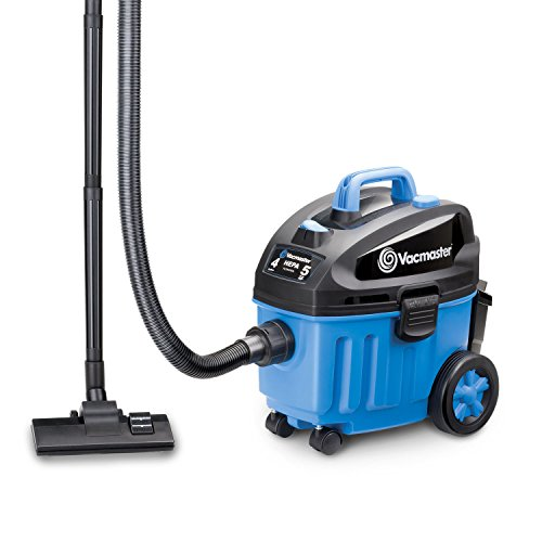 Vacmaster 4 Gallon, 5 Peak HP with 2-Stage Industrial Motor Wet/Dry Floor Vacuum, - Shop Hepa Vacuum