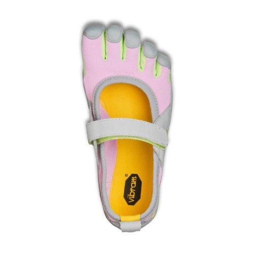 Vibram Fivefingers Sprint Girl's Pink/Grey/Green-33