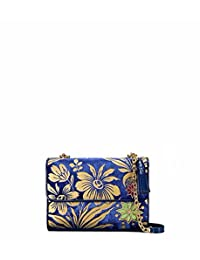 Tory Burch Women's Fleming Quilted Leather Sholder Bag Leather Cross Body Bag