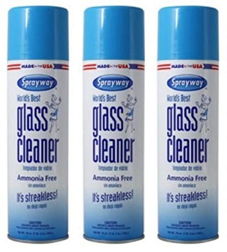 Best Glass Cleaner - Sprayway 707 Glass Cleaner (Pack of 3)