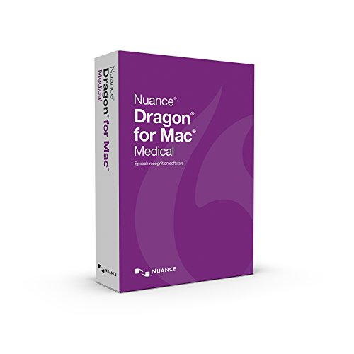 Nuance Communications Dragon for MAC Medical 5.0 English