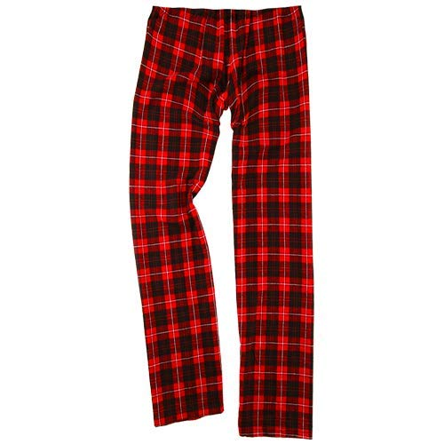Boxercraft Flannel - boxercraft Youth Flannel Pant Red/Black, Large